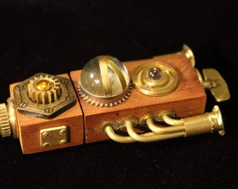 The Beast, a 32Gb USB 3.0 Steampunk flash drive