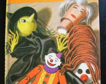 Easy to make puppets Vintage Ladybird Book Series 633 First edition 1973