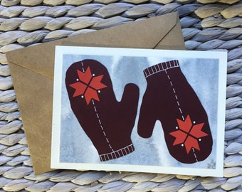 Mittens Card -Stlye #1