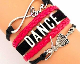 Dance Jewelry- New Dance Bracelet- Perfect Dancer Gift!!!