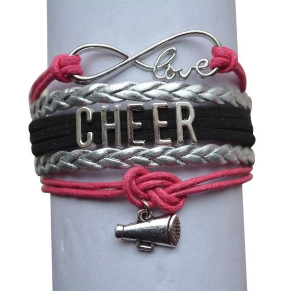 Cheer Charm Bracelets: Cheer Jewelry Cheer Bracelet Perfect Cheer By