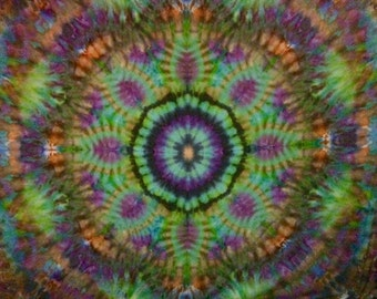 Psychedelic Flower Tapestry **Sold**