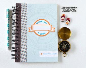 Travel Journal- Kid's Travel journal- Traveler's notebook- vacation planner