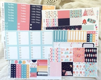 The Great Outdoors Kit for the VERTICAL Erin Condren Life Planner