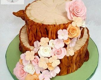 wedding display cake, Fake cake, Weddings, Table decor, Photo prop, Fondant cake, Wedding ceterpiece, Special event