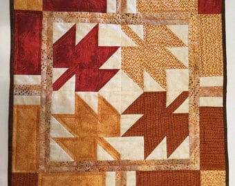 Small Quilted Fall Table Runner