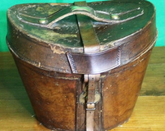 Leather, Hat, Box, Antique, luggage, Interior, Vintage, decor,