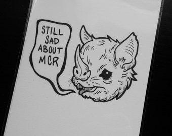 Still Sad About MCR print