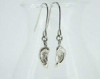 ear earring silver dangle