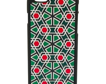 IPhone leather cover Mosaic