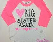 Big Sister Finally shirt,  Big Sister Finally shirt, baby announcement, pregnancy announcement