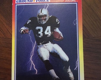 1990 Score Ground Force – Bo Jackson Card Number 330 -Card 10 Of 12
