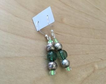 august birthstone dangle earrings