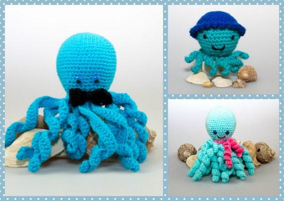 Amigurumi Octopus Tutorial : Amigurumi Octopus Crochet Pattern Amigurumi Crochet Toys ...