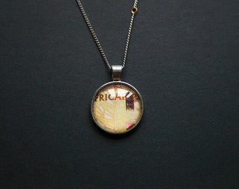 South African Rand Pendant Necklace