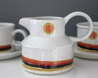 "Midwinter Stonehenge Mod ""Day"" Pattern Coffee Set Made in England"