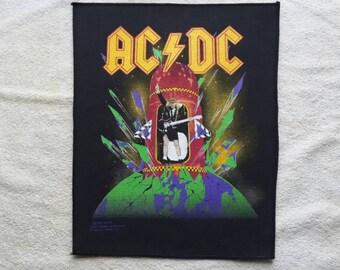 1989 AC/DC Back Patch