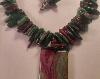 Ruby in Zoisite & Agate