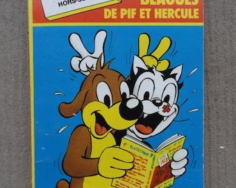 Special Edition 1988 PIF pocket book / 300 Pif and Hercules jokes