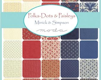 Polka Dots & Paisley Charm Pack