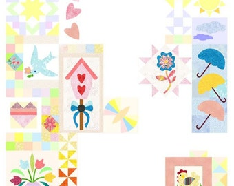 Spring magic - mystery pattern Sofortdownload