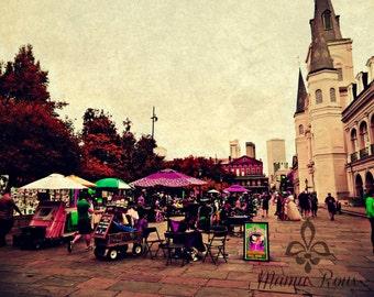 Tarot Readers in Jackson Square