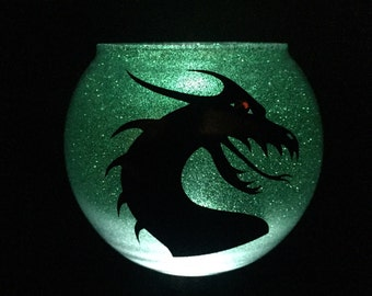 Clearance LED Dragon candle holder