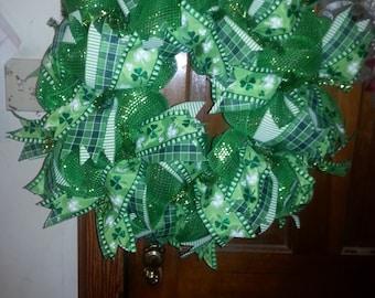 Luck of the Irish Wreath
