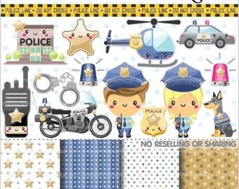 Polizeiwache clipart  Polizeiwache | Etsy