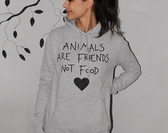 Animals are friends, not food