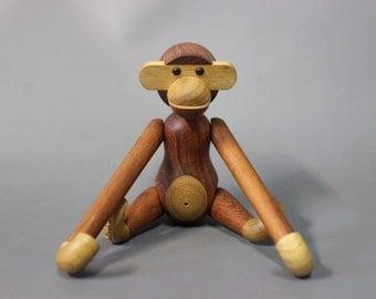 Kay Bojesen Monkey in teak, Size Small