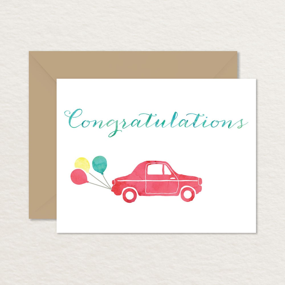 Printable Congratulations Card / New Baby Card / A2 Printable