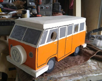 Vw Van, bird house