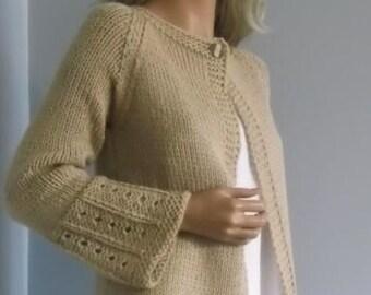 Sweterek,narzutka ,ręcznie zrobiony sweter