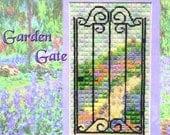 Garden Gate Canvaswork Pattern