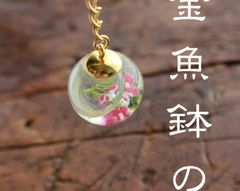 Ornamental hairpin of the goldfish bowl*金魚鉢の簪