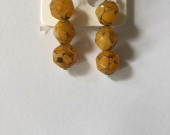 Dangle earrings beautiful winter colours