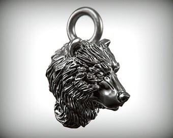 Bear Charm - Silver