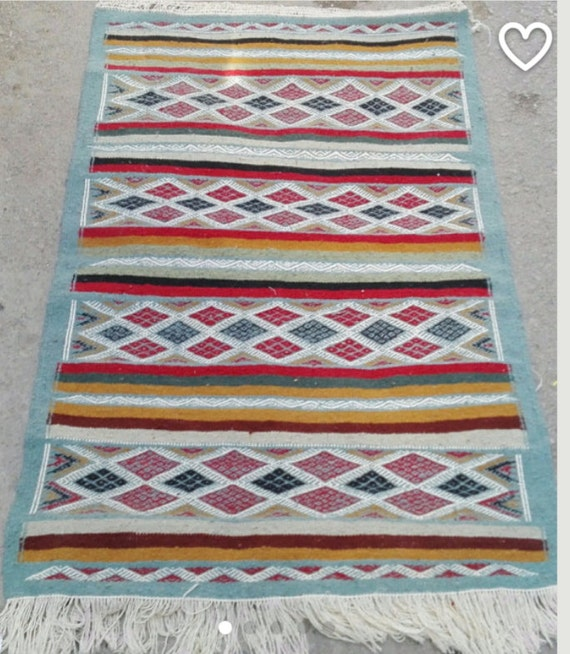 Kilim Blue Red Black White Green Rugs Kilim Rugs Bedside