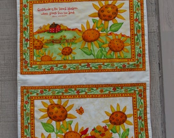 Peaceful Harvest Fall Wall or Door Hanging