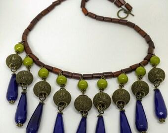 The Deep Blue - Women's Necklaces, Statement Necklace