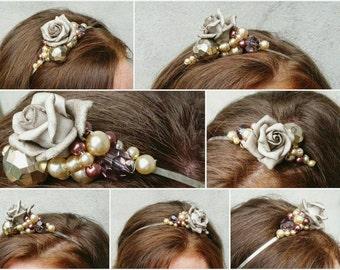 Little headpiece by Mademoiselle Mavelton