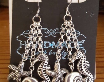 Nautical summer earrings