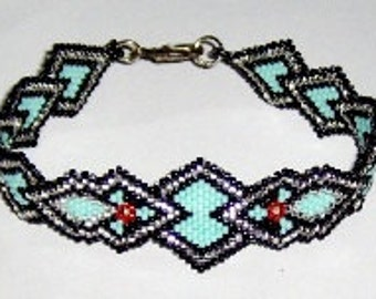 Desert Cross - Beading Pattern - Brick Stitch or Peyote
