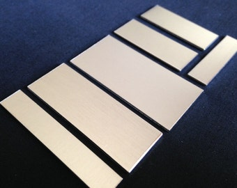 20 Gauge - Aluminum Rectangle Stamping Blanks, Aluminum Blanks, Stamping Blanks Co.