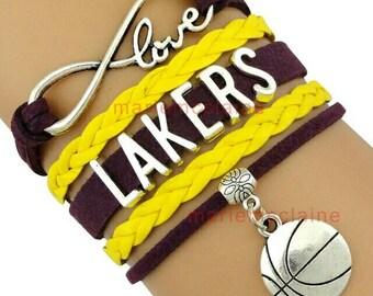 Los Angeles Lakers bracelet