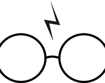 Harry Potter Glasses and Scar Knitting Pattern