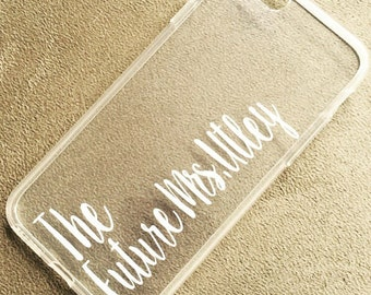 iPhone 6 Plus - Personalized Case - The Future Mrs