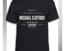 Custom Vintage Michael Clifford Original Limited Edition Tshirt Mens and Tshirt Womens