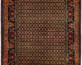 "Vintage Persian Koliai Rug, 3'1"" x 6'3"""